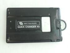 FUJI FILM  QUICK CHANGER 45 film Back (holder) for 4x5 inch camera