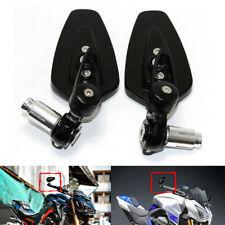 """2x Arrow Motorcycle 7/8"""" Handlebar End Mirrors for Kawasaki Z1000 Z900 Z800 Z650"""