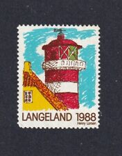 Denmark Poster Stamp  LANGELAND LIGHTHOUSE