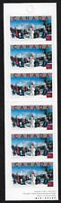 Canada -Booklet of 6 -Tourist Attractions: Quebec Winter Carnival #2019a (BK285)