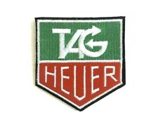 Tag Heuer watches biker badge Iron Sew On Embroidered Patch
