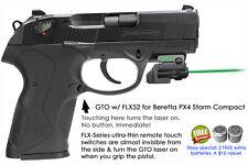 ArmaLaser GTO Beretta PX4 Storm Compact GREEN Laser Sight w/ FLX52 Touch Grip