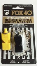New listing Fox 40 Lot of 4 referee whistles