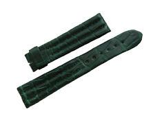 Original BREGUET Marine Green Crocodile Watch Strap Band 19mm New