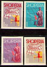 Albania 1962 Sc630-33(I) Mi689-92 mnh Tourism-Europa