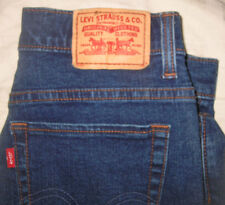 LEVIS 512 Womens PERFECTLY SLIMMING Size 10 DENIM JACKET BEADED SIZE M-L