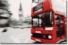 TRAVEL POSTER London Red Bus