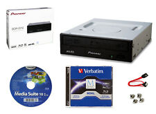 Pioneer BDR-2212 Internal 16x Blu-ray Writer S/W + 100GB M-DISC+Cable+Screws
