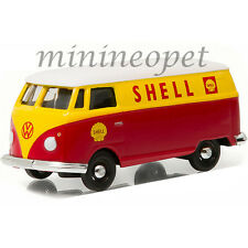 GREENLIGHT 35040 A VW VOLKSWAGEN TYPE 2 PANEL VAN 1/64 SHELL OIL RED / YELLOW