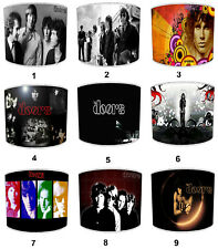 The Doors Jim Morrison Lampshades, Ideal To Match The Doors Cushions & Covers