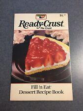 Keebler Ready Crust Pie Crust Fill'n Eat Dessert Recipe Cookbook Paperback