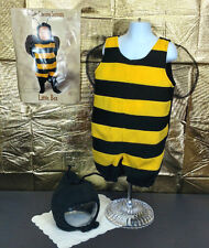 Baby Bumble Bee Costume Toddler Size Baby Infant Halloween Outfit Hood Wings NWT