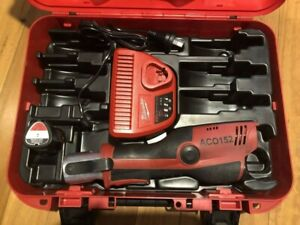Novopress ACO-152 Press Tool W/- Case, M12 Battery & M12 Charger