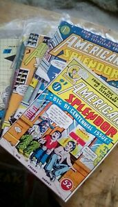 American splendor Comics , number 1 to 17 .First print