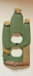 Vicki Lane Saguaro CACTUS Switch Wall Plate Cover -  Single Gang Outlet Cover