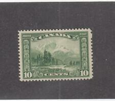 CANADA (MK319) # 155  VF-MNH  10cts  1928 MOUNT HURD, BC / GREEN CAT VALUE $140