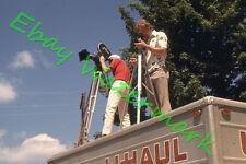 1974  Guys on U-Haul Truck Shooting TV Commercial Original 35mm Slide/Photo
