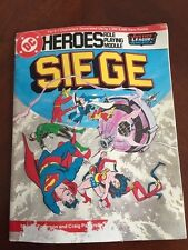 Dc Heroes Justic League of America Role Playing Module: Siege 1985
