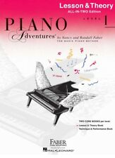 Piano Adventures All in Two 1 Lesson Theory Book