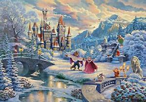 Jigsaw Puzzle Beauty and the Beast's Winter Enchantment