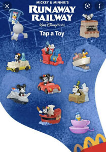 McDonald's 2020 Happy Meal Toys  Mickey and Minnie's Runaway Railway Lot Of 6