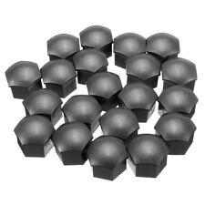 20 Car Wheel Nut Bolt Head 19mm grey Covers Caps Plastic Hex tops  remover tool