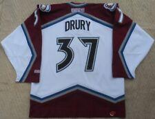 Vintage CCM jersey Colorado Avalanche Hockey NHL Chris Drury #37 Size. L