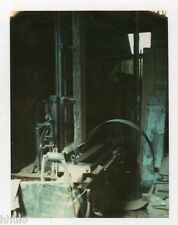 POL646 Polaroid Photo Vintage Original usine machine abstract