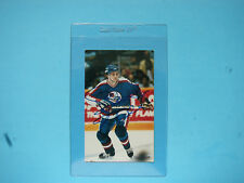 1980`S NHL HOCKEY PHOTO / CARD DAVE ELLET WINNIPEG JETS AUTHENTIC AUTOGRAPH AUTO