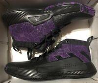 Adidas Dame 5 Size 5.5 Marvel Black Panther Wakanda Forever Damian Lillard