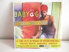BABY G Reggae night fiva 82876 624 792 CD SINGLE S/S