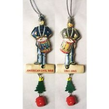CIVIL WAR DRUMMER BOY WOODEN ORNAMENT CHRISTMAS ornament