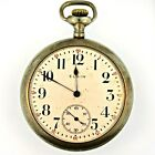 Antique 1917 Elgin National Watch Co. 7 Jewels Movement and Dial with Silver Ton