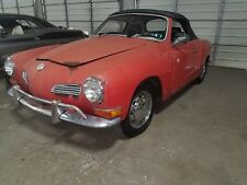 1971 Volkswagen Karmann Ghia 2 door
