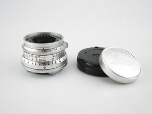 Für Leica M Leitz Wetzlar Summaron 1:2.8/35 Objektiv lens 10 blades + caps