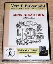Vera F. Birkenbihl - Denk-Strategien (2009) NEU !!! Selbsthilfe, Vortrag, DVD