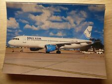 AIGLE AZUR   AIRBUS A 320  F-HBAC    /  collection vilain N° 550