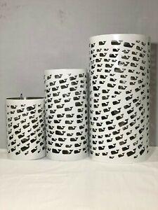 Whale Cutout Lantern- Set of 3 Sizes - White - Vineyard Vines for Target