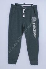 NWT Abercrombie Women's jogger Sweatpants Gray XL