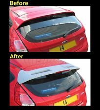 B GRADE ABS Rear tailgate Spoiler ST look Ford Fiesta MK7 VII 2008 on NEW 7 8 RS