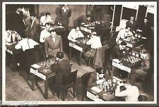vintage Bulgarian photo Chess tournament Sofia 1949 Bulgaria - Czechoslovakia