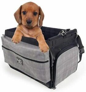 ALL FOR PAWS Pet Delux 2 in 1 Bicycle Basket Carrier Bag With Reflective Stripe