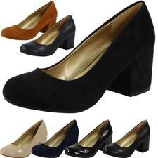 Court Cuban Heel Synthetic Heels for Women