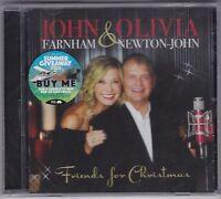 John Farnham & Olivia Newton-John - Friends For Christmas - CD(Brand New Sealed)