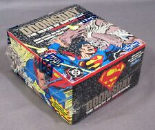 1992 DOOMSDAY: THE DEATH OF SUPERMAN TRADING CARDS Factory Sealed Box Skybox