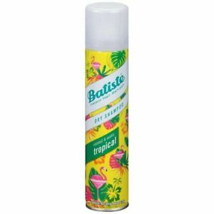New Batiste Dry Shampoo, Tropical, 6.73 Ounce