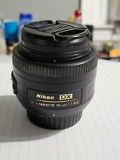 New listing Nikon Nikkor 35 mm F/1.8G Af-S Dx Lens