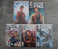 Lot 5 BBC Doctor Who Tenth & Eleventh Comic Books Excellent Condition