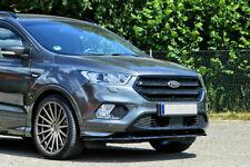 For Ford Kuga ST Front Bumper Lip Cup Skirt Lower spoiler Chin Valance Splitter