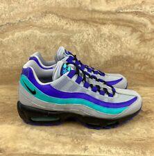Nike Air Max 95 OG Men's Running Shoes Wolf Grey Black Indigo Grape